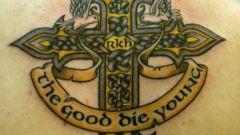 Что означает тату в виде креста