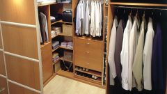 Как распланировать гардеробную