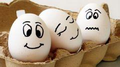 Как запихнуть куриное яйцо в бутылку