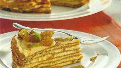 Как приготовить многослойный пирог с ревенем