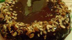 Как приготовить шоколадно-миндальный торт