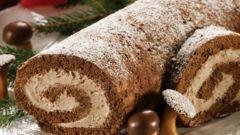 Как приготовить рождественские бревнышки