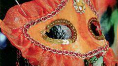 Как сделать карнавальную маску из картона