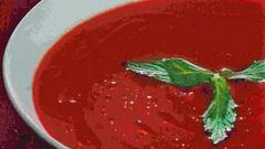 Томатно-смородиновый суп