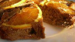 Кофейно-медовый пирог с апельсинами