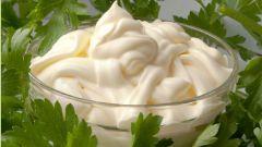 Как снизить калорийность майонеза
