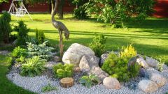 Как обустроить сад камней на своем участке