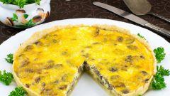 Как приготовить открытый сырный пирог