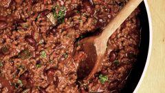 Жгучий мясной соус