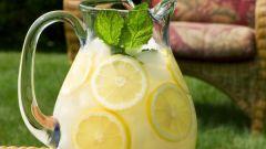 Как сделать домашний лимонад