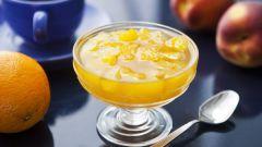 Как приготовить персиковое варенье с апельсинами