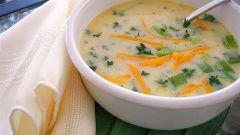Суп из плавленого сырка: простой рецепт на скорую руку