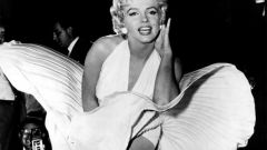 How to sew a white dress as Marilyn Monroe