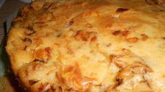 Как приготовить пирог с капустой и яйцами на кефире