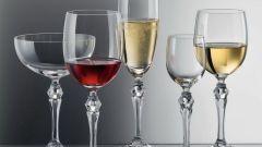 Как правильно подбирать бокалы для напитков