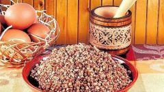 Гречневая крупа - основа диетического питания