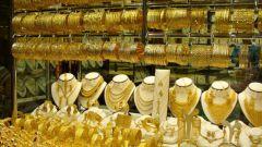 Покупка золотых украшений в Дубае