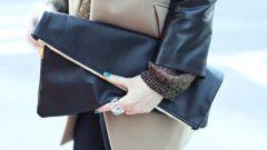 С чем носить большую сумку