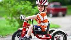 Как выбрать трехколесный велосипед для ребенка