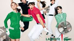 Особенности стиля бренда Lacoste