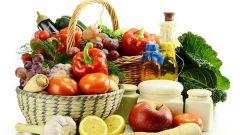Содержание витаминов и микроэлементов в основных продуктах питания
