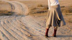 С чем носить юбку-брюки