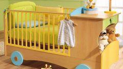 Чем украсить детскую кроватку
