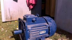The principle of operation of induction motor