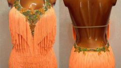 How to sew a costume for ballroom dancing
