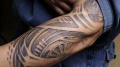 Как сделать татуировку в стиле