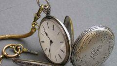 Как продать старинные карманные часы