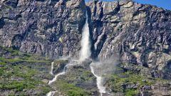 Где находятся самые высокие водопады в Европе?
