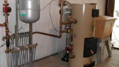 Как установить в доме комбинированный котел отопления