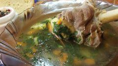 Бараний суп