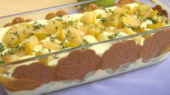 Как приготовить итальянскую шарлотку