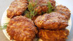 Котлетки из мяса косули