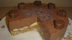 Как приготовить шоколадно-банановый торт без выпечки