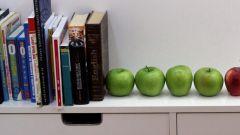 Стильные акценты: яблоки в интерьре