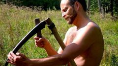 How to sharpen a scythe