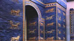 Почему ворота богини Иштар голубого цвета