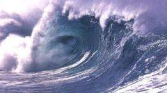 Как образуется цунами