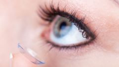 Что делать, если покраснели глаза от линз