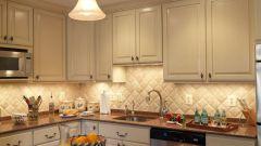 Кухонный фартук из плитки: тонкости укладки