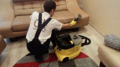 How to clean the sofa from dust