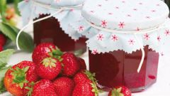 How to cook healthy jam from strawberries