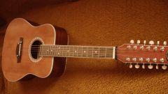 Как настроить 12-струнную гитару при помощи тюнера