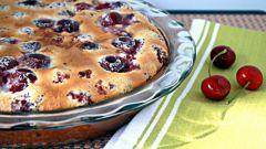 Клафути - французский вишневый пирог