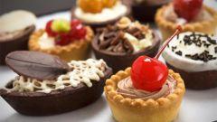 Калорийность популярных пирожных и тортов