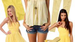 10 способов внести желтый цвет в ваш гардероб