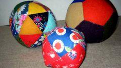 Как сшить народный лоскутный мяч